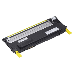 Dell 330-3579 Yellow OEM Toner Cartridge - 1235cn, 1230c - (1,000 pages)